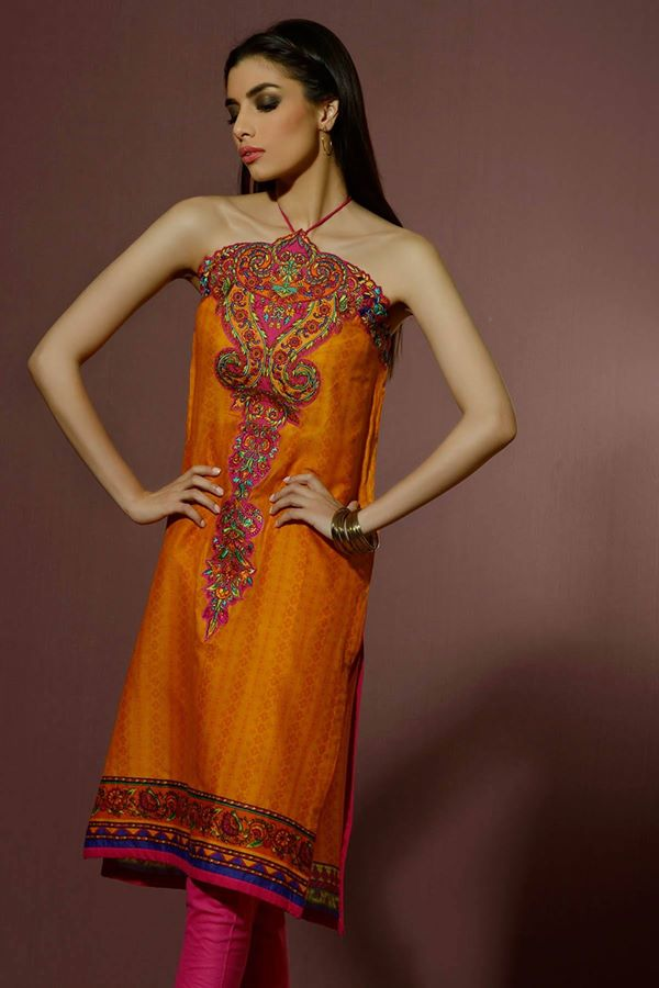 Alkaram Studio Latest Collection of Stylish and Best Eid Dresses for Women 2014-2015 (16)