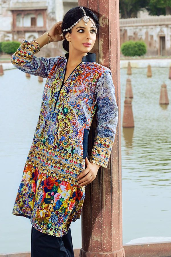 Alkaram Studio Latest Collection of Stylish and Best Eid Dresses for Women 2014-2015 (17)