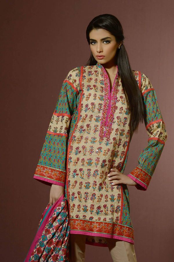 Alkaram Studio Latest Collection of Stylish and Best Eid Dresses for Women 2014-2015 (18)