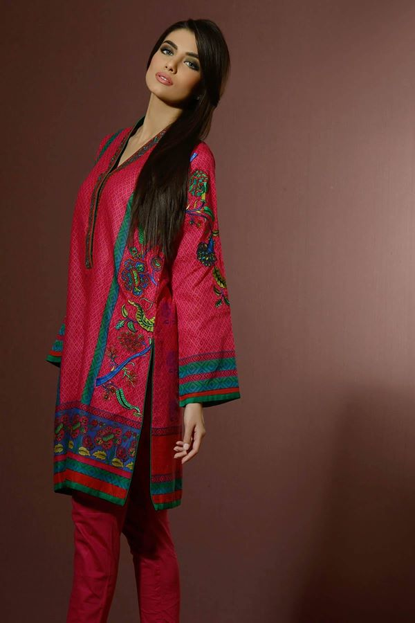 Alkaram Studio Latest Collection of Stylish and Best Eid Dresses for Women 2014-2015 (2)