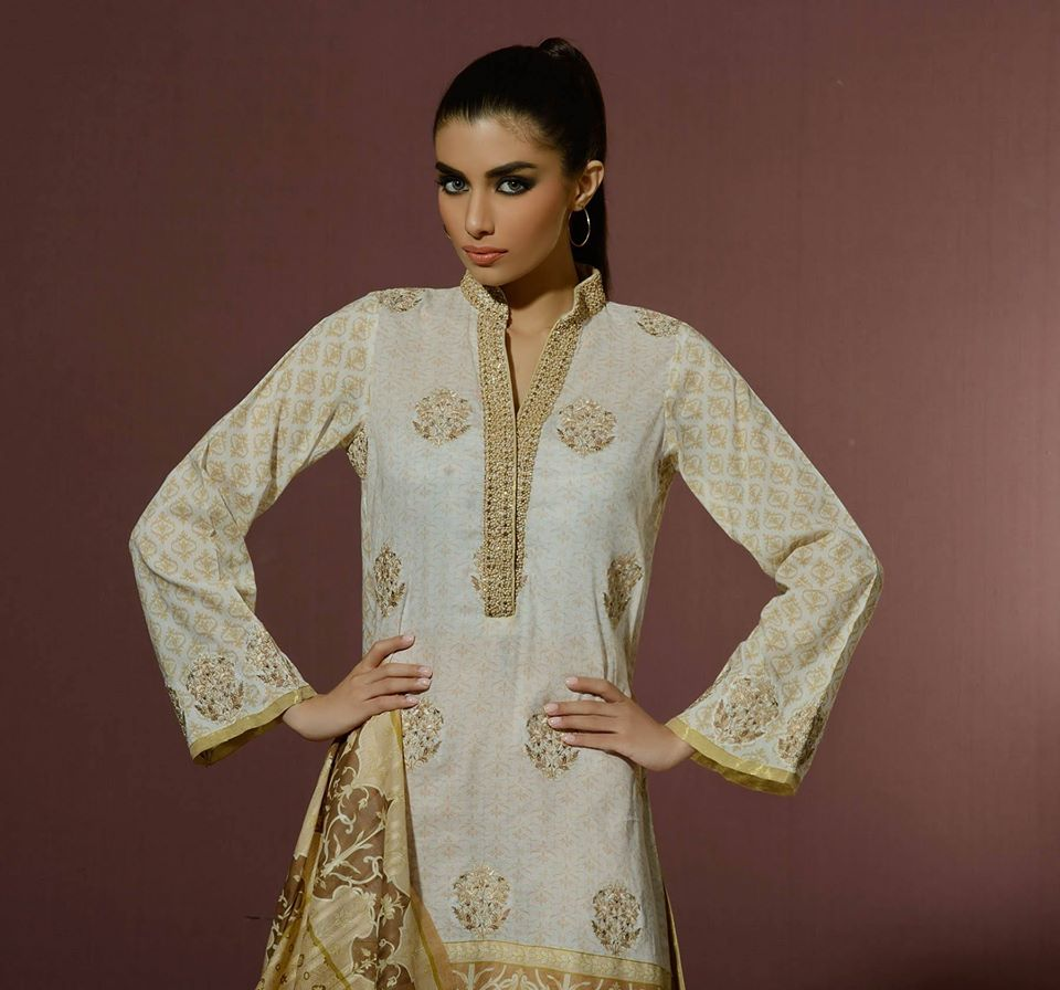 Alkaram Studio Latest Collection of Stylish and Best Eid Dresses for Women 2014-2015 (24)