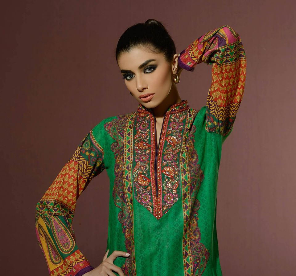 Alkaram Studio Latest Collection of Stylish and Best Eid Dresses for Women 2014-2015 (28)