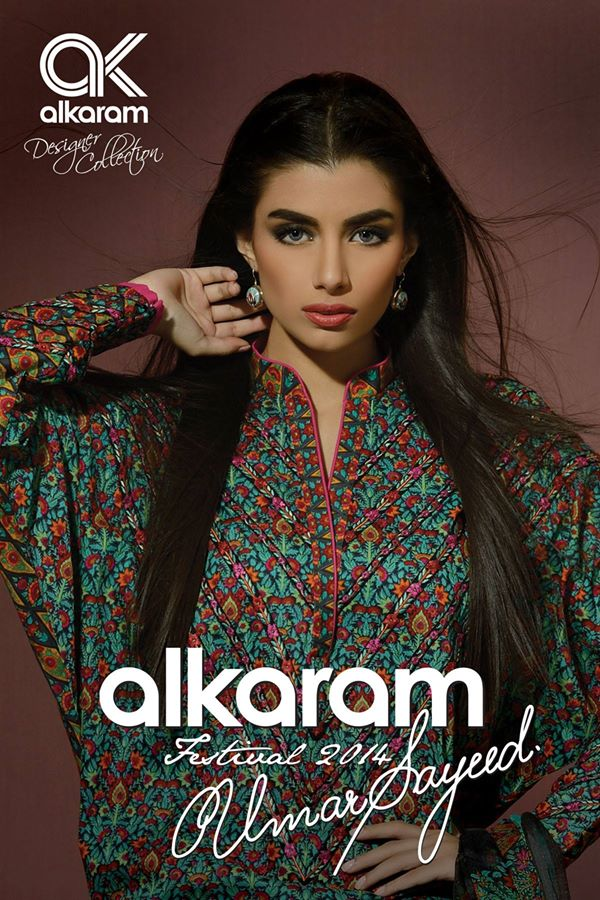 Alkaram Studio Latest Collection of Stylish and Best Eid Dresses for Women 2014-2015 (3)