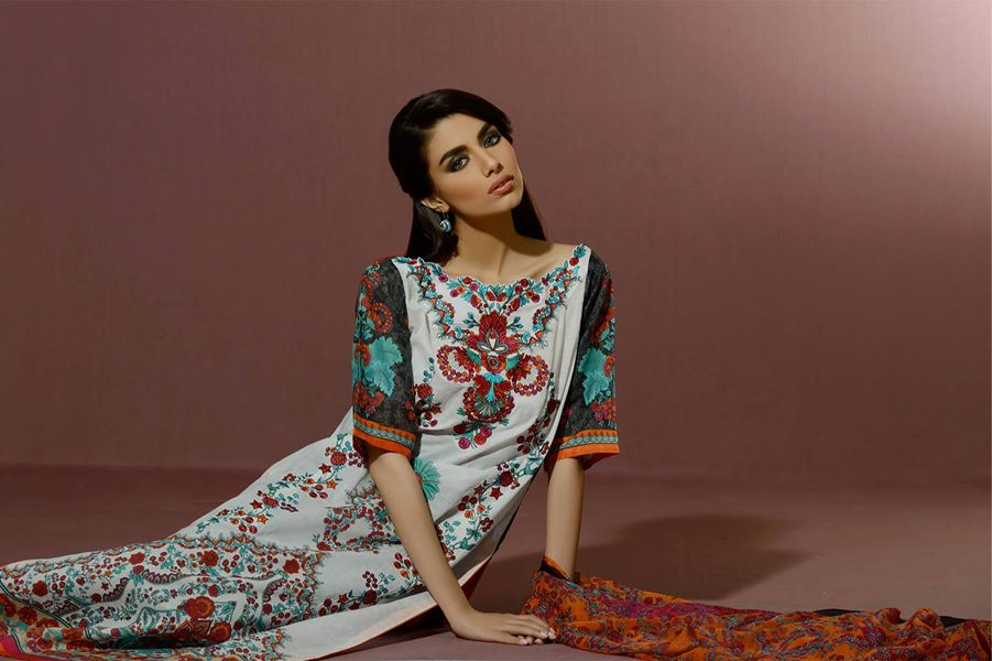 Alkaram Studio Latest Collection of Stylish and Best Eid Dresses for Women 2014-2015 (30)
