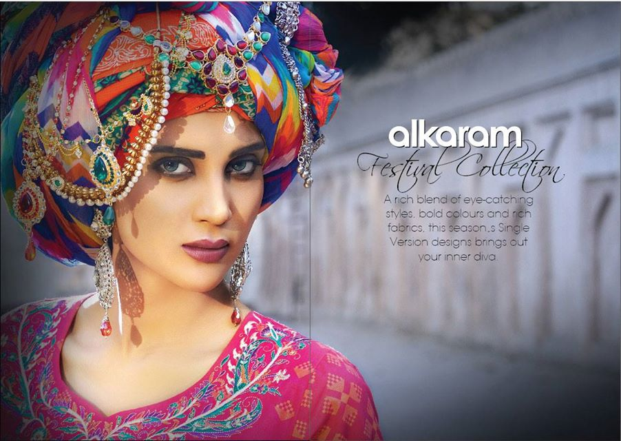Alkaram Studio Latest Collection of Stylish and Best Eid Dresses for Women 2014-2015 (31)