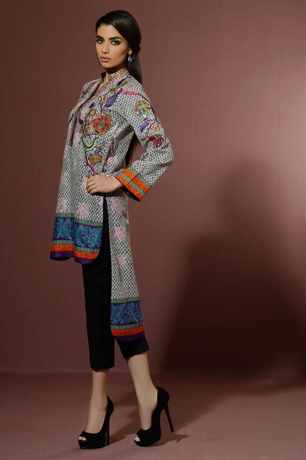 Alkaram Studio Latest Collection of Stylish and Best Eid Dresses for Women 2014-2015 (6)