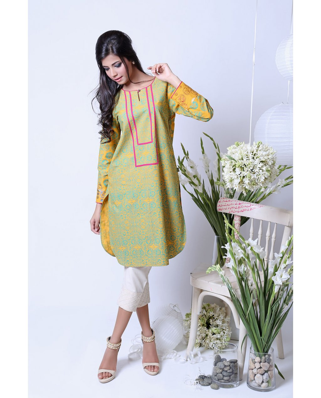 Ego Modern Ladies Shirts Kurtas Eid Collection 2017-2018