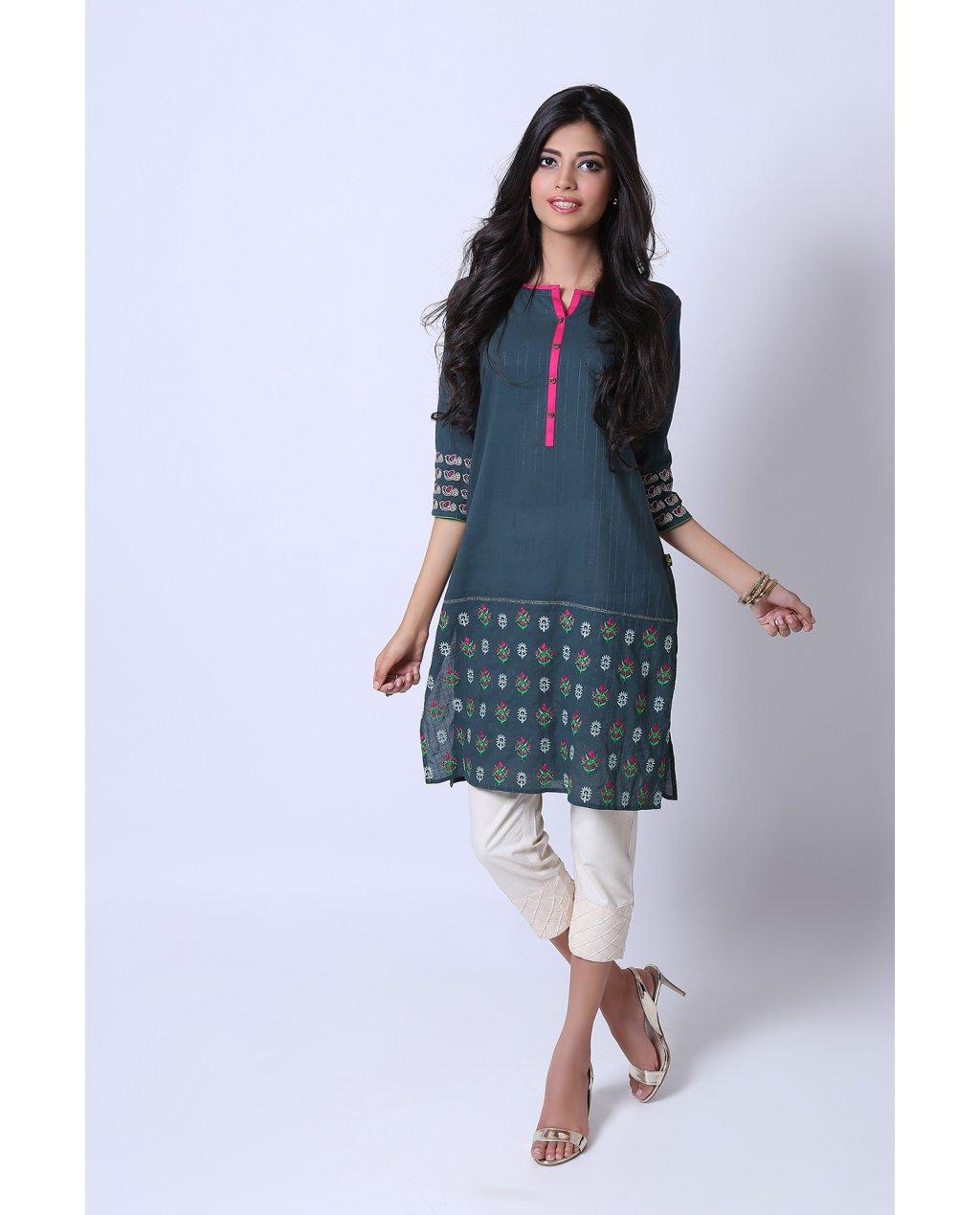 Shirt design kurti - Keep