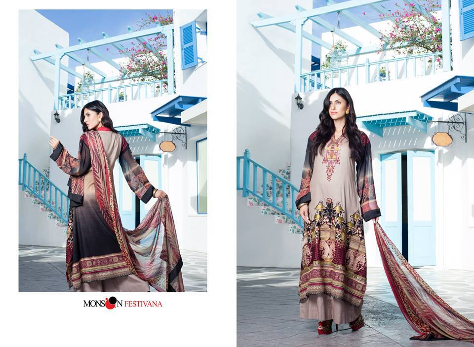 Firdous Monsoon Fancy Embroidered Lawn Eid Dress Collection 2014- 2015 (1)