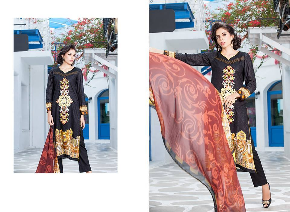 Firdous Monsoon Fancy Embroidered Lawn Eid Dress Collection 2014- 2015 (10)