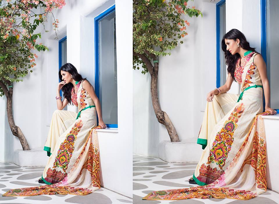 Firdous Monsoon Fancy Embroidered Lawn Eid Dress Collection 2014- 2015 (11)