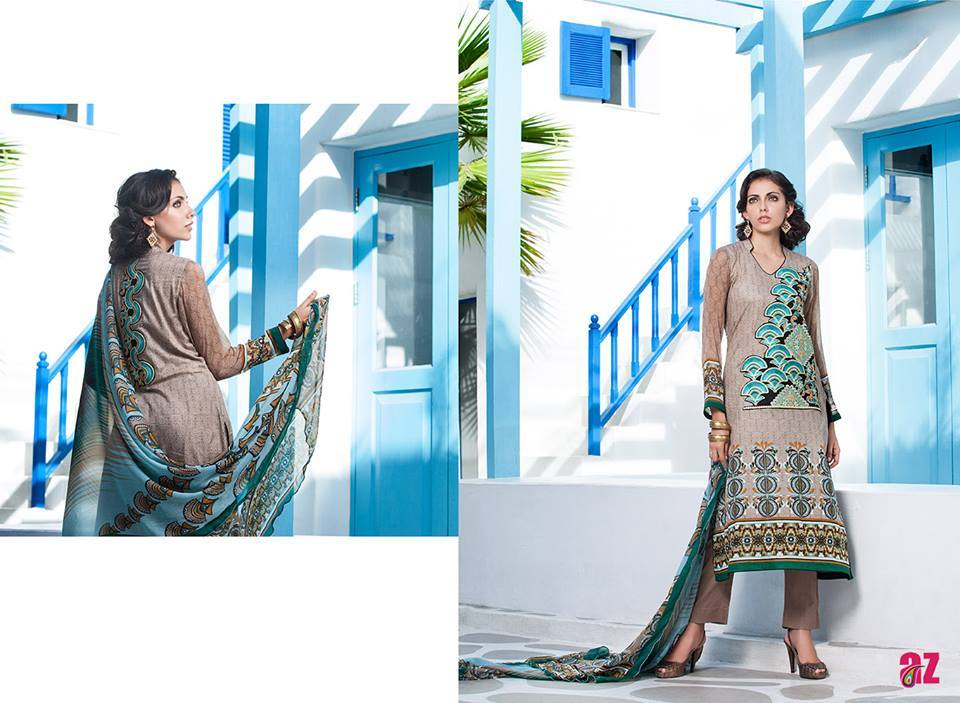 Firdous Monsoon Fancy Embroidered Lawn Eid Dress Collection 2014- 2015 (12)