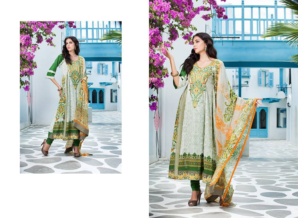 Firdous Monsoon Fancy Embroidered Lawn Eid Dress Collection 2014- 2015 (14)