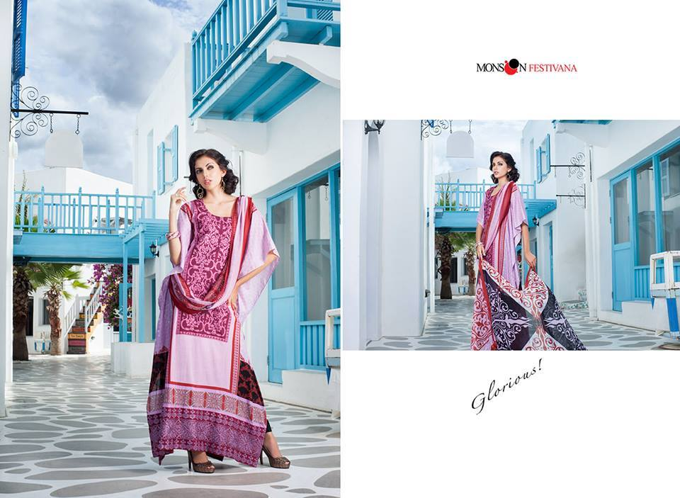 Firdous Monsoon Fancy Embroidered Lawn Eid Dress Collection 2014- 2015 (16)