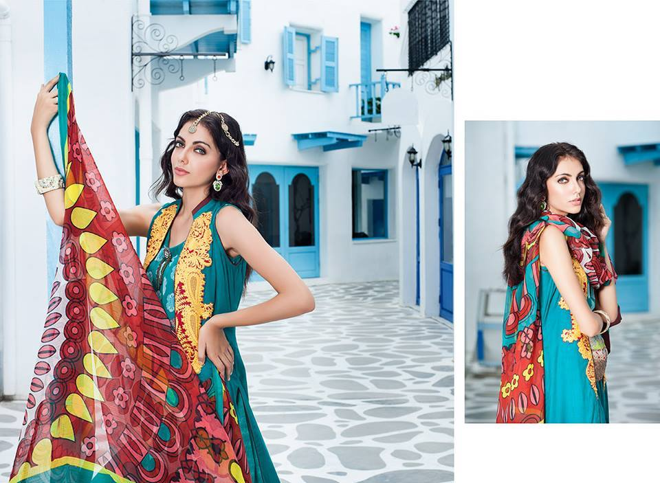 Firdous Monsoon Fancy Embroidered Lawn Eid Dress Collection 2014- 2015 (18)