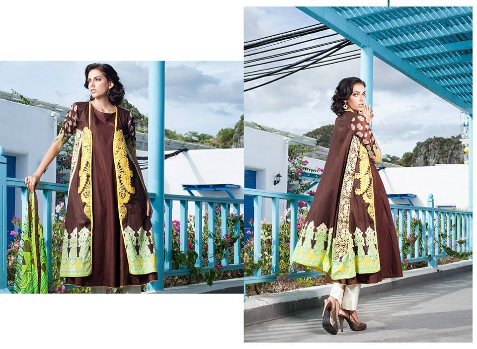 Firdous Monsoon Fancy Embroidered Lawn Eid Dress Collection 2014- 2015 (2)