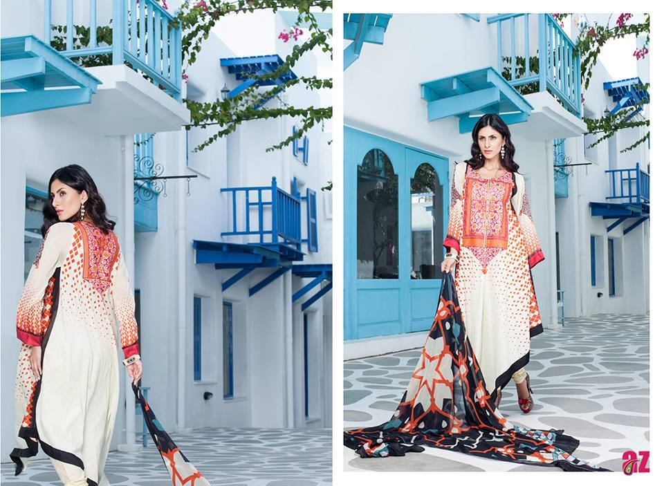 Firdous Monsoon Fancy Embroidered Lawn Eid Dress Collection 2014- 2015 (3)