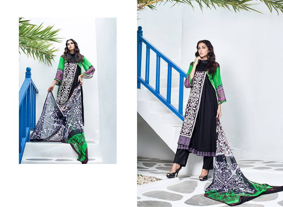 Firdous Monsoon Fancy Embroidered Lawn Eid Dress Collection 2014- 2015 (4)