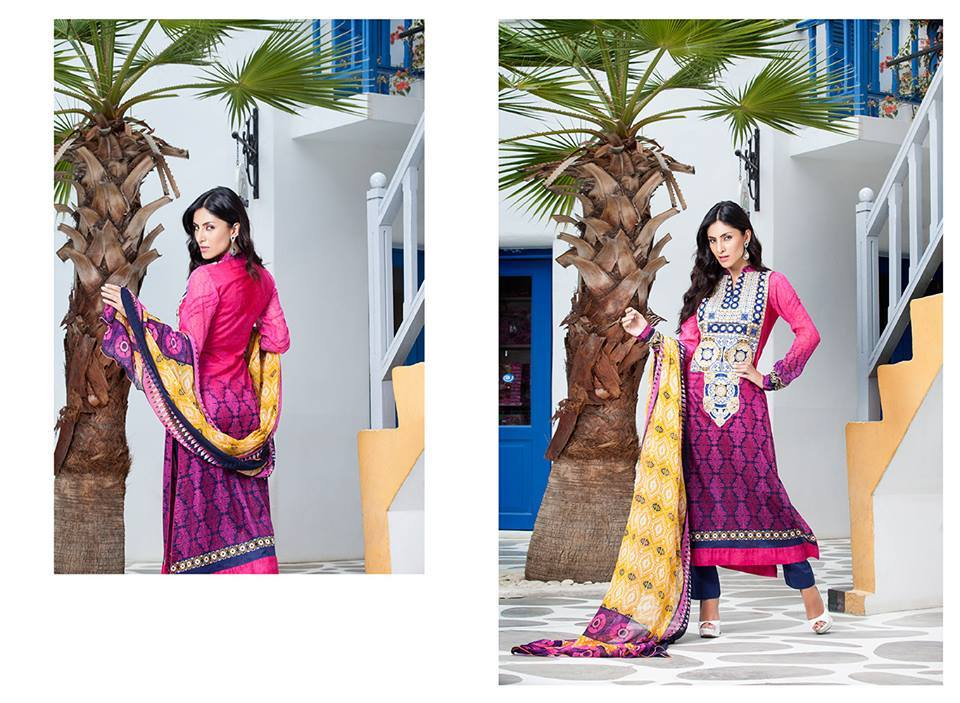 Firdous Monsoon Fancy Embroidered Lawn Eid Dress Collection 2014- 2015 (9)
