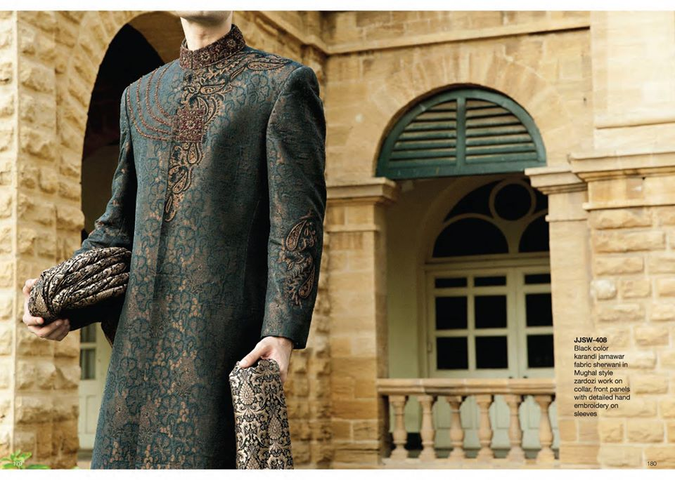 J. Juanid Jamshed Men Eid & Festival Wear Best Traditional Kurta and Sherwani Designs Shalwar kameez Collection (29)