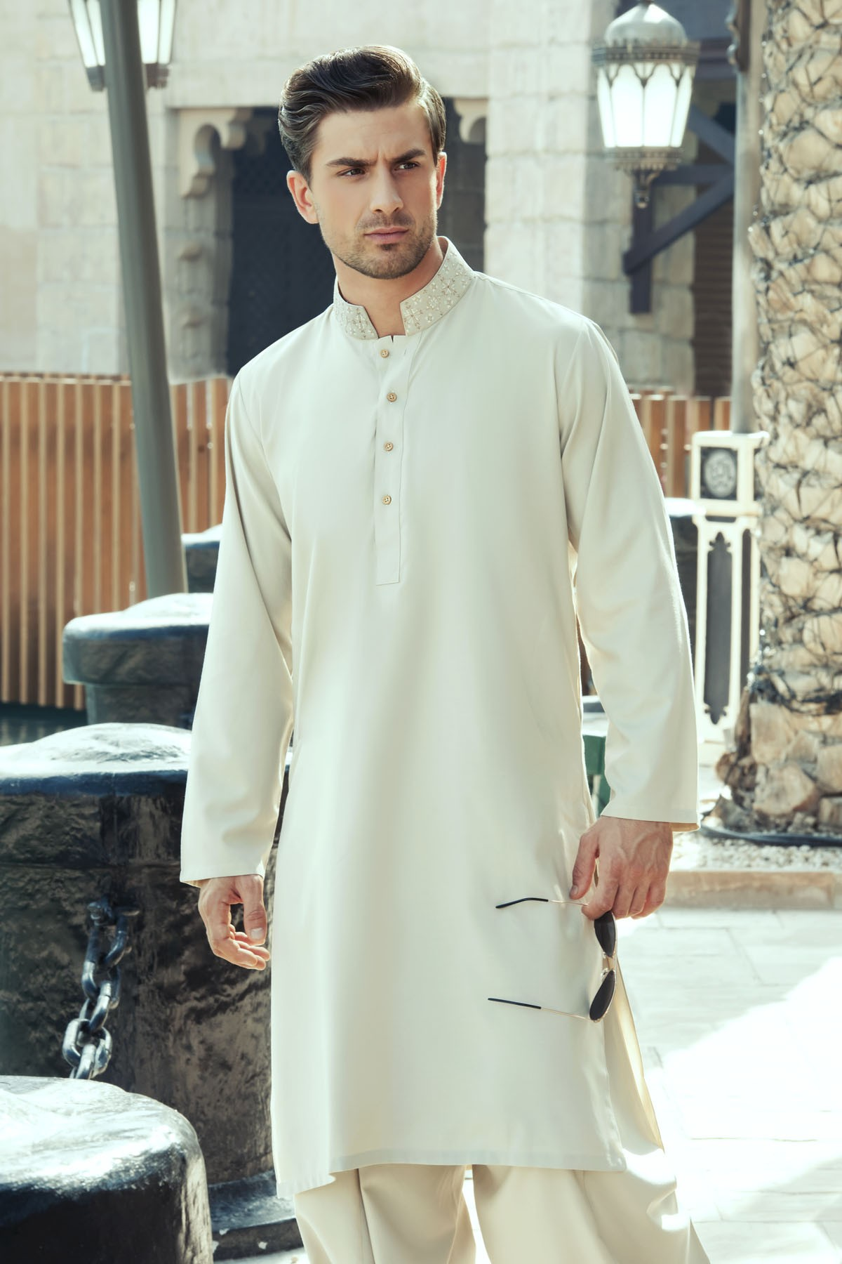 Latest Bonanza Men Kurtas & Shalwar Kameez Eid Collection 2016-2017 (10)