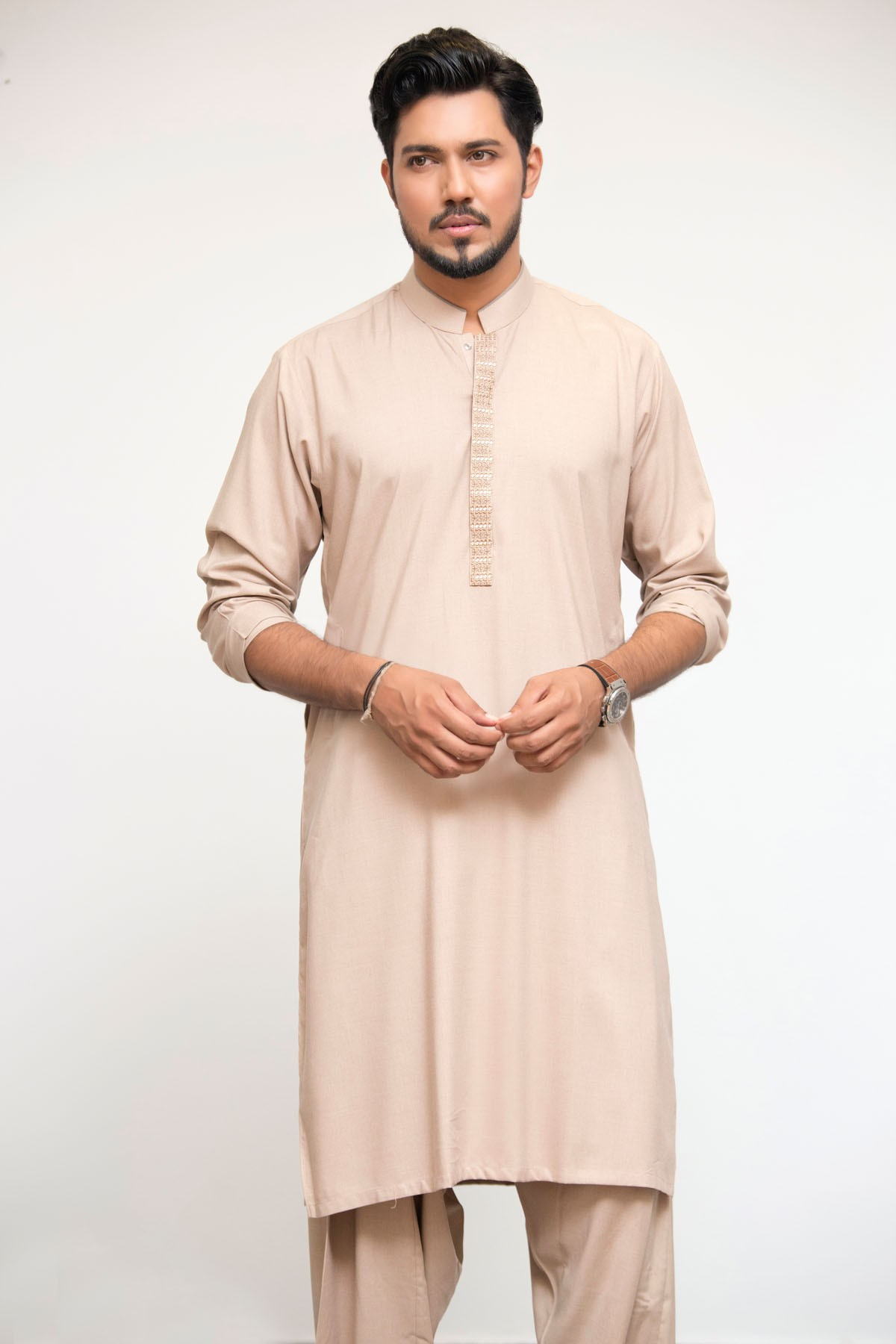 Latest Bonanza Men Kurtas & Shalwar Kameez Eid Collection 2016-2017 (12)