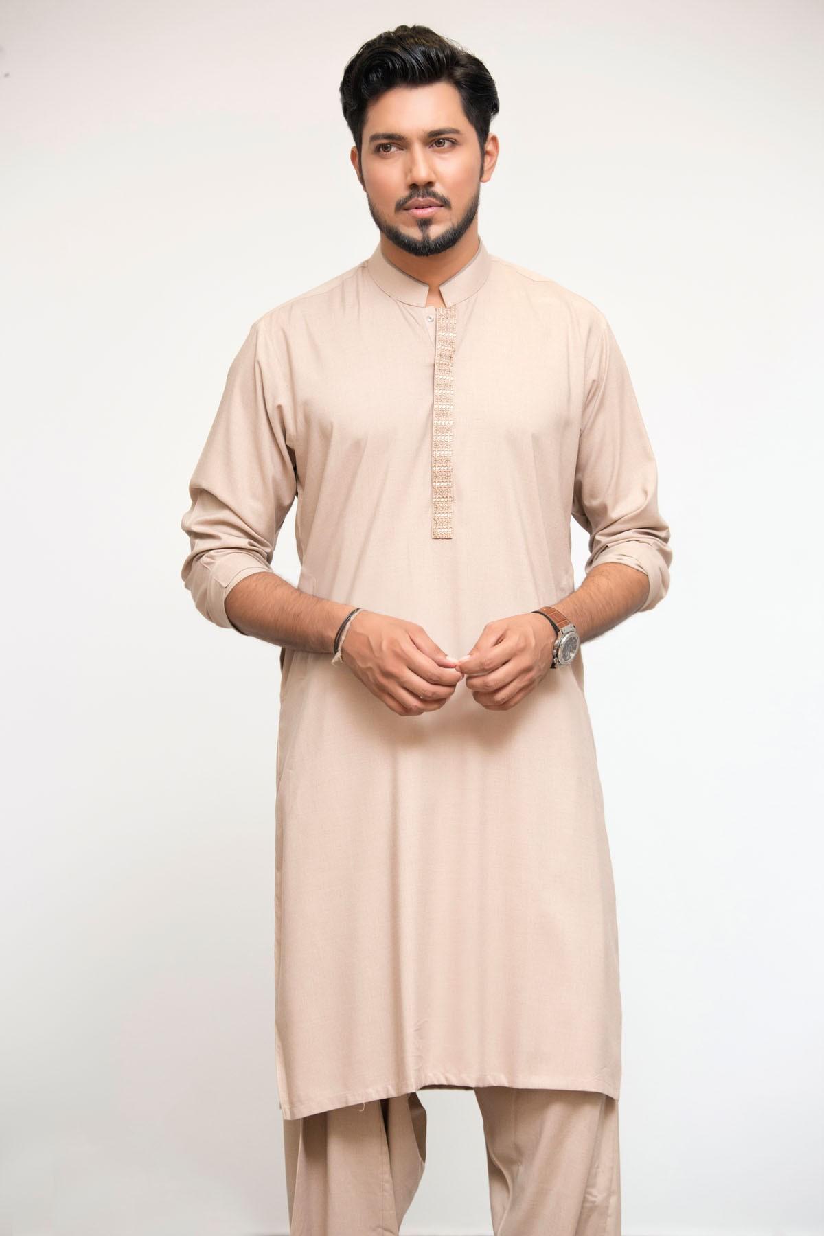Latest Bonanza Men Kurtas & Shalwar Kameez Eid Collection 2016-2017 (12)