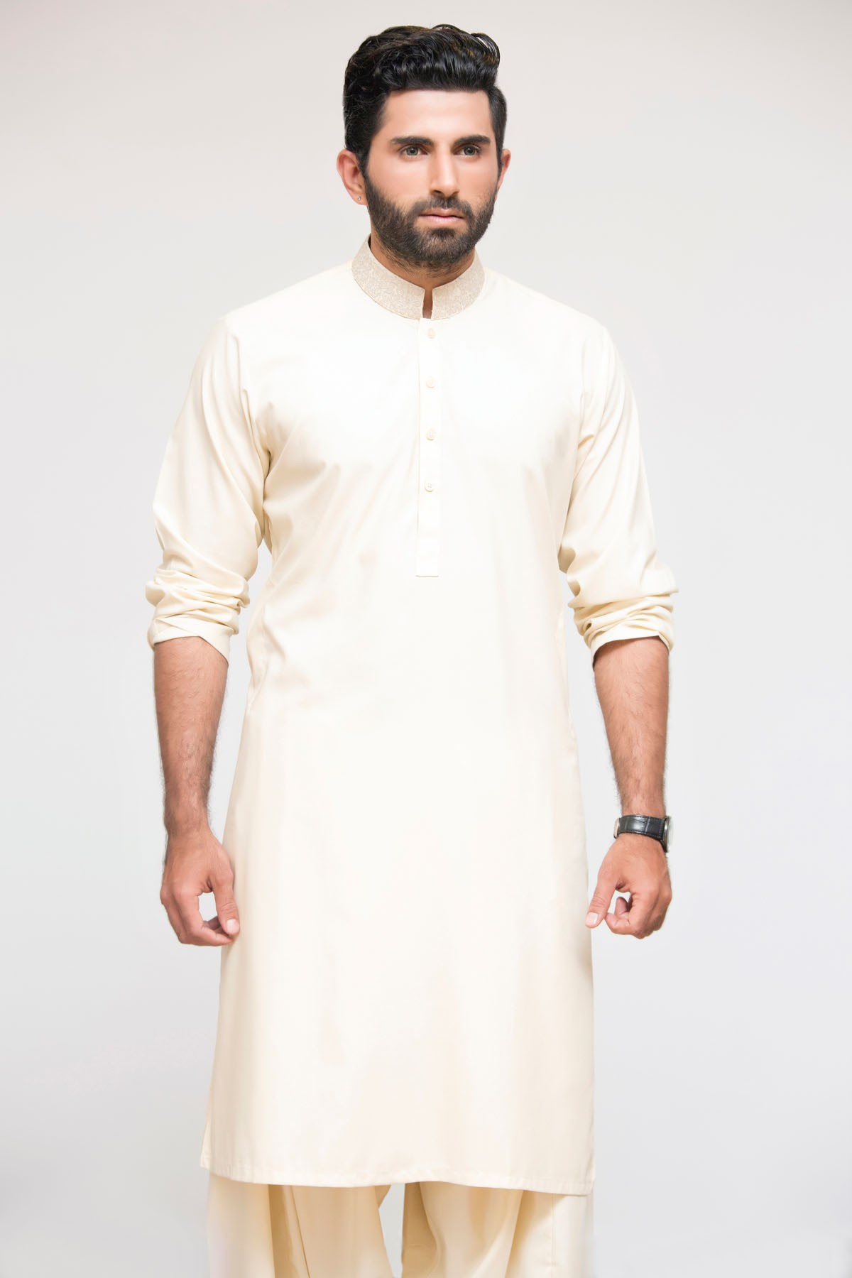 Latest Bonanza Men Kurtas & Shalwar Kameez Eid Collection 2016-2017 (13)