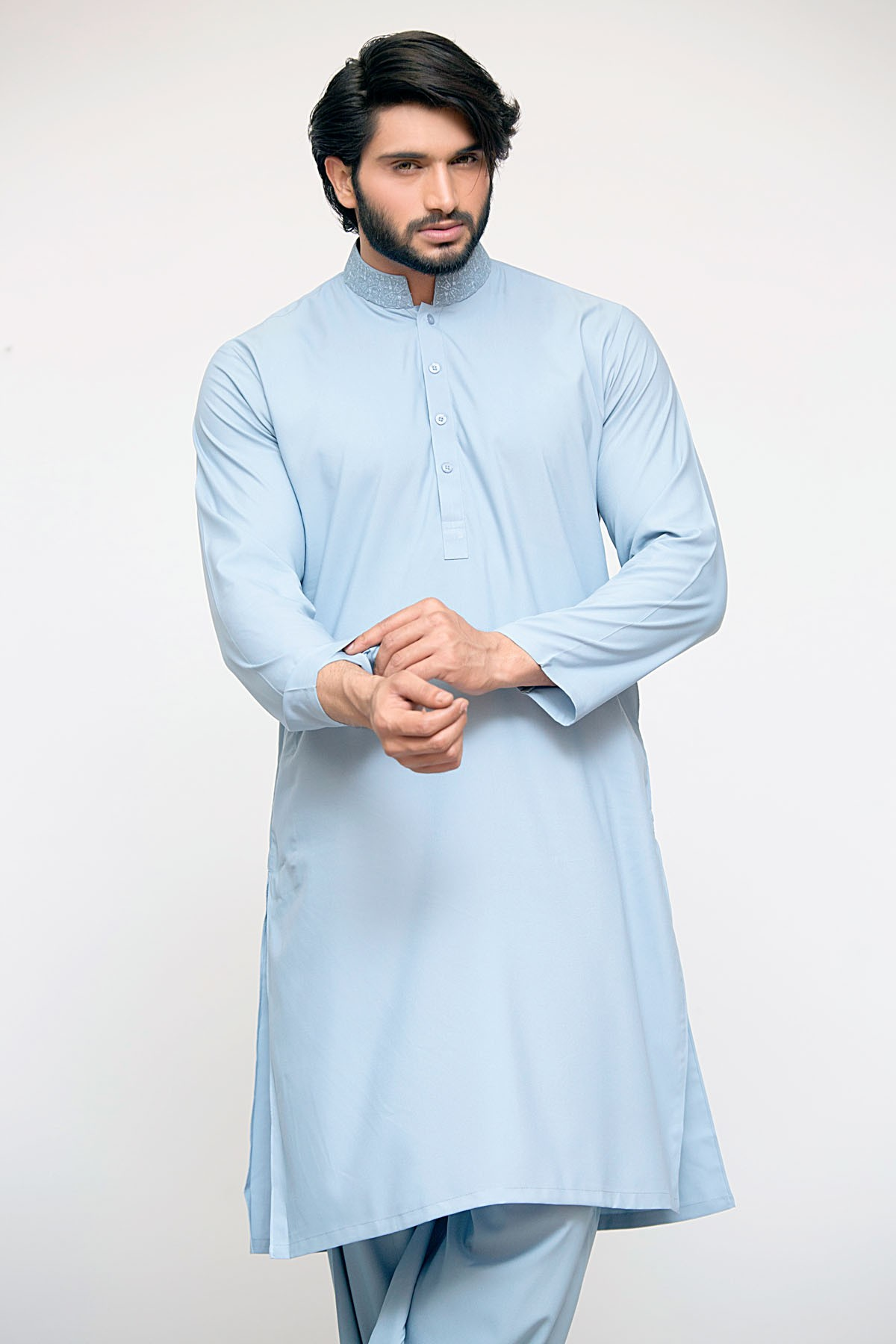 Latest Bonanza Men Kurtas & Shalwar Kameez Eid Collection 2016-2017 (14)