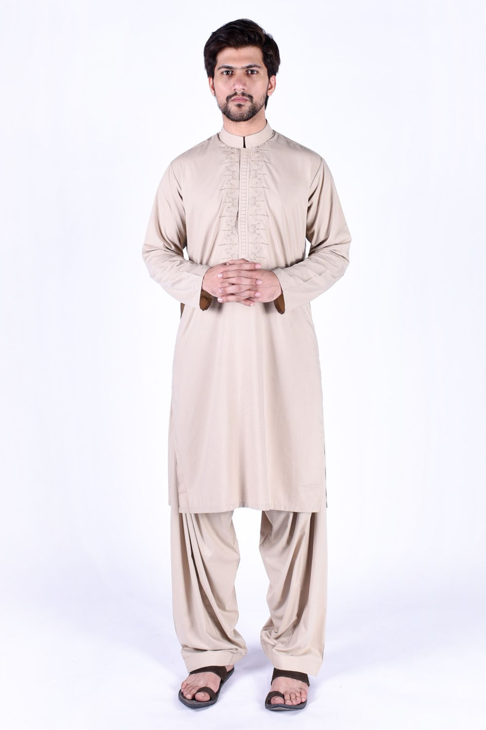 Latest Bonanza Men Kurtas & Shalwar Kameez Eid Collection 2016-2017 (15)
