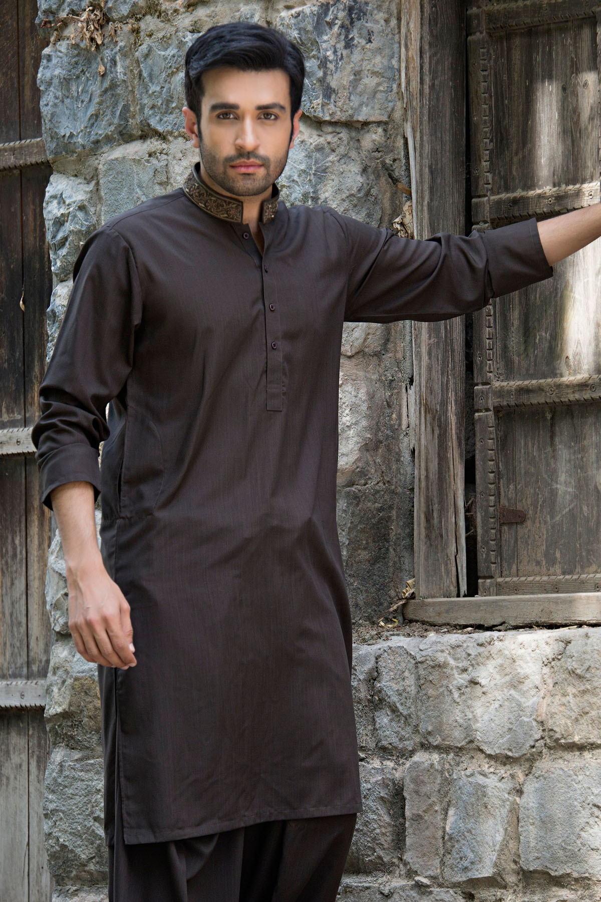 Latest Bonanza Men Kurtas & Shalwar Kameez Eid Collection 2016-2017 (2)