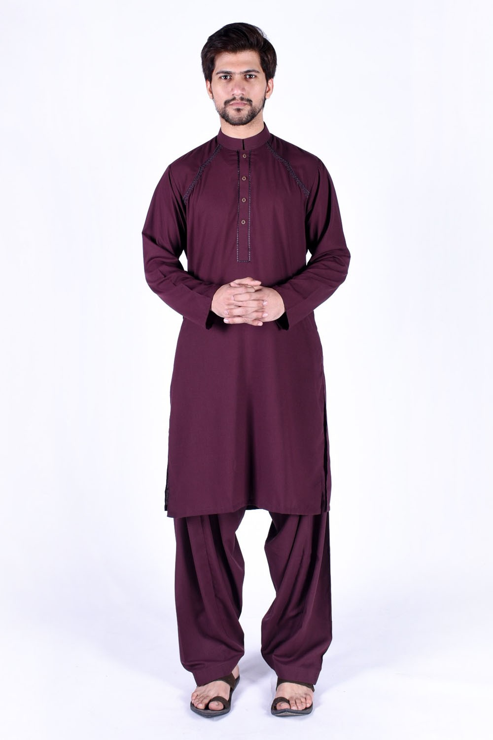 Latest Bonanza Men Kurtas & Shalwar Kameez Eid Collection 2016-2017 (22)