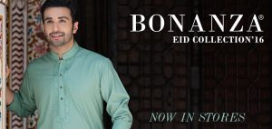 Latest Bonanza Men Eid Kurta Shalwar Kameez Collection 2017-2018