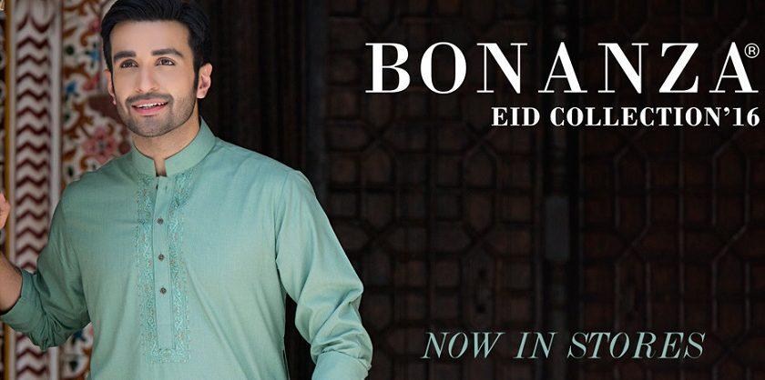 Latest Bonanza Men Kurtas & Shalwar Kameez Eid Collection 2016-2017 (25)