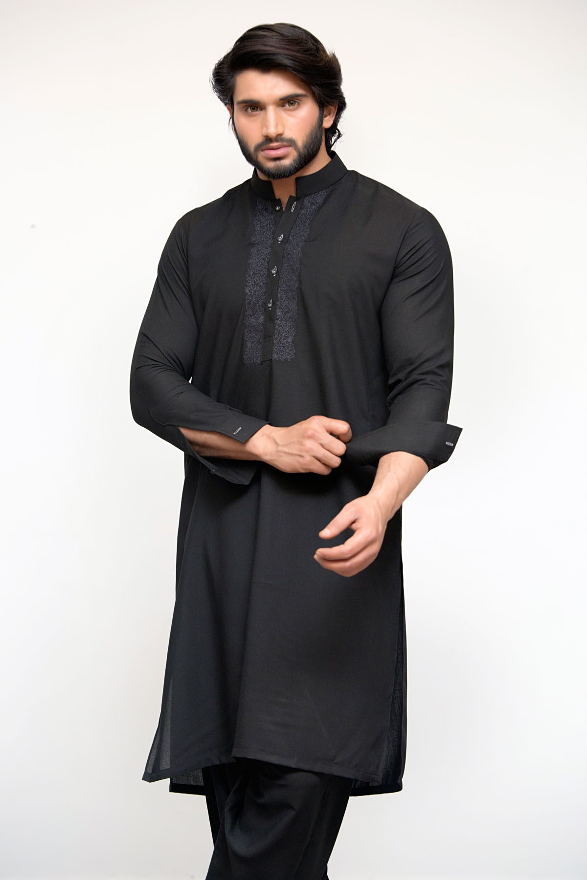 Latest Bonanza Men Kurtas & Shalwar Kameez Eid Collection 2016-2017 (7)