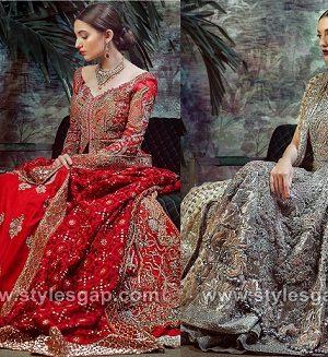 Latest Bridal Dresses Tena Durrani Wedding Collection 2018-19