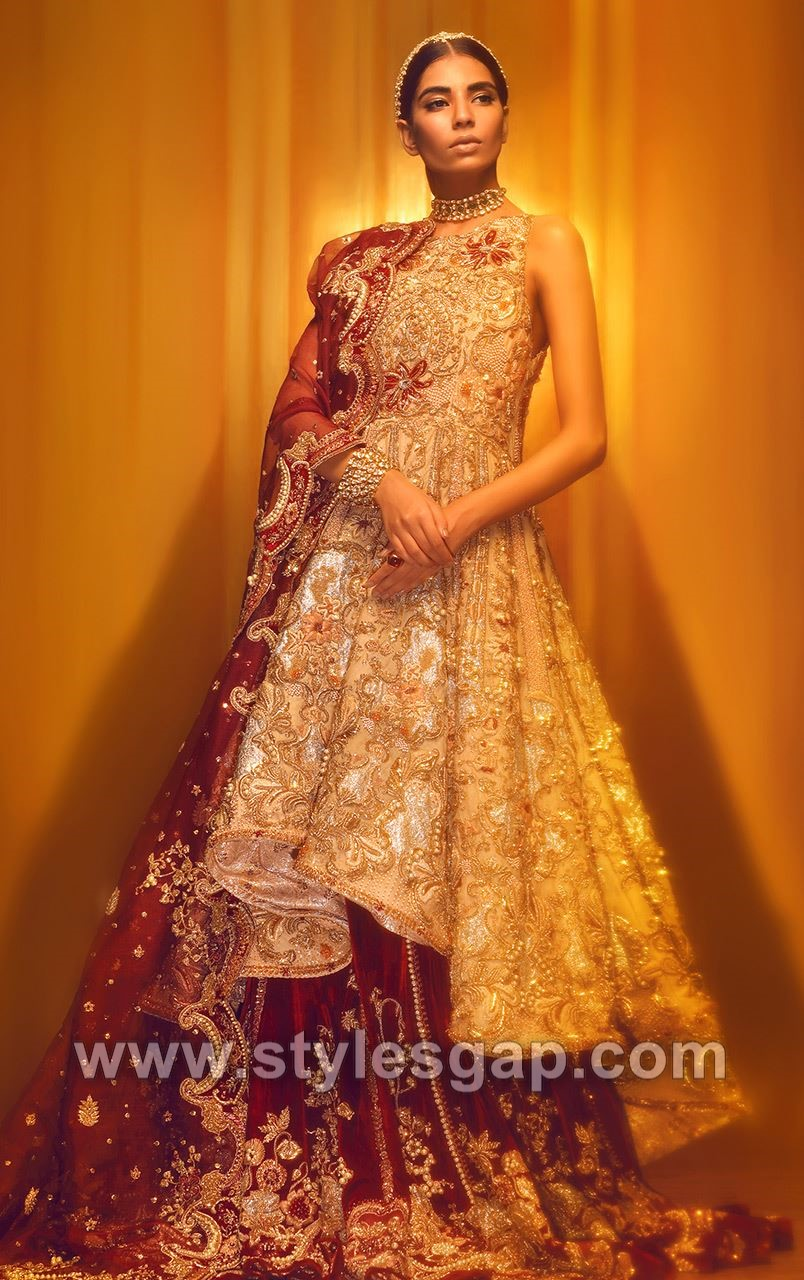 ffcd7d0e22 See More As: Indian Designer Beautiful Bridal Wedding Sarees · Fahad Husayn  Latest Designer Bridal Dresses ...