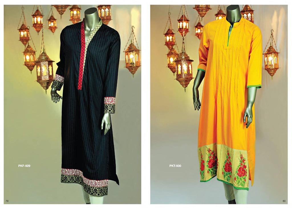 Latest Fasion of Kurtis Design Collection for Girls 2014-2015 --J.J Kurti Collection 2014 (12)