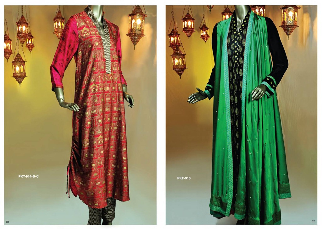 Latest Fashion of Kurtis Design Collection for Girls 2014 /2015