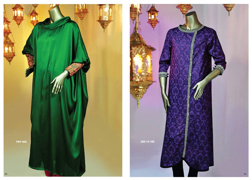 Latest Fasion of Kurtis Design Collection for Girls 2014-2015 --J.J Kurti Collection 2014 (14)