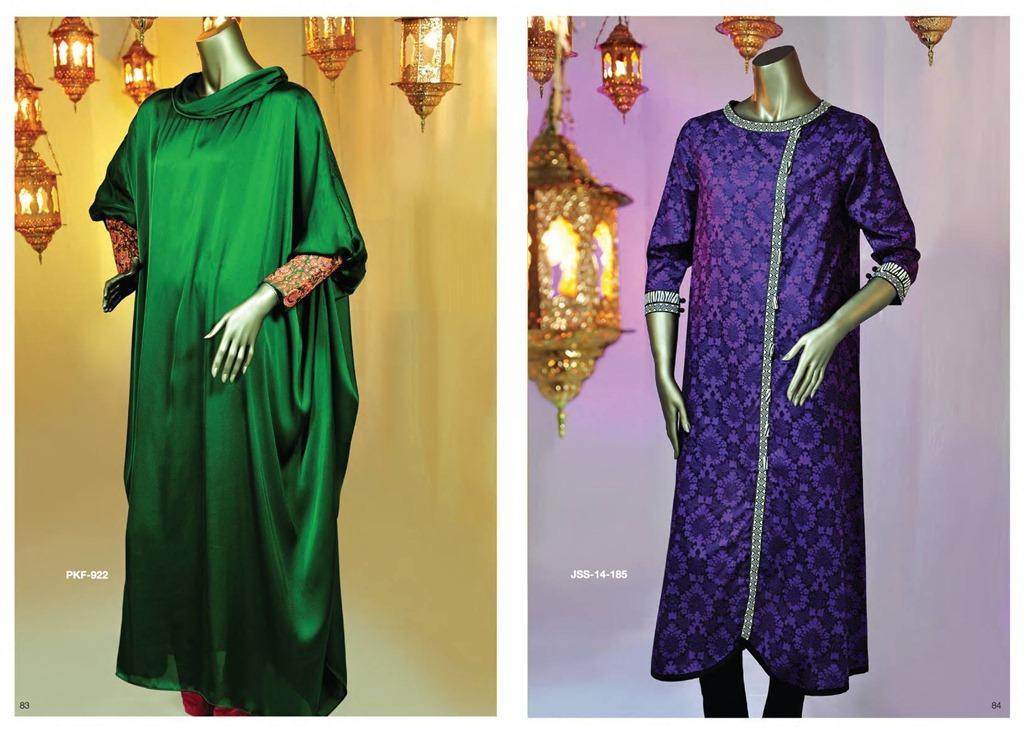 Latest Fasion of Kurtis Design Collection for Girls 2014-2015 --J.J Kurti Collection 2014 (14)