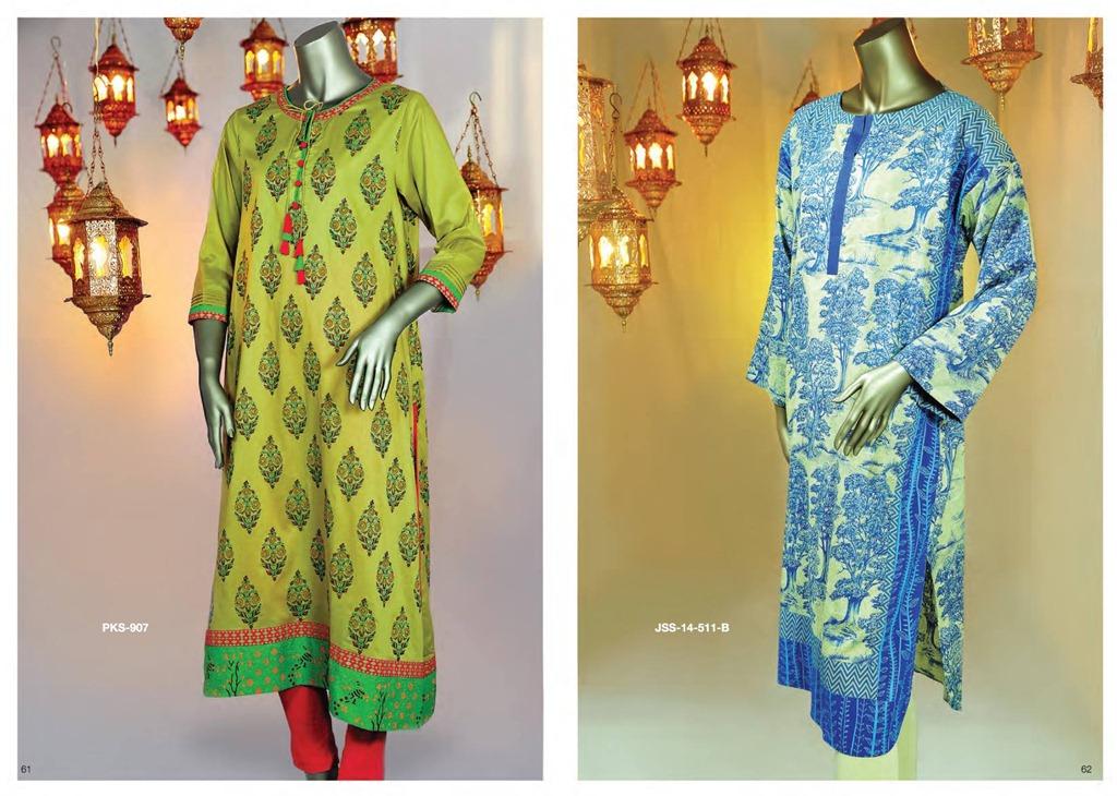 Latest Fasion of Kurtis Design Collection for Girls 2014-2015 --J.J Kurti Collection 2014 (2)
