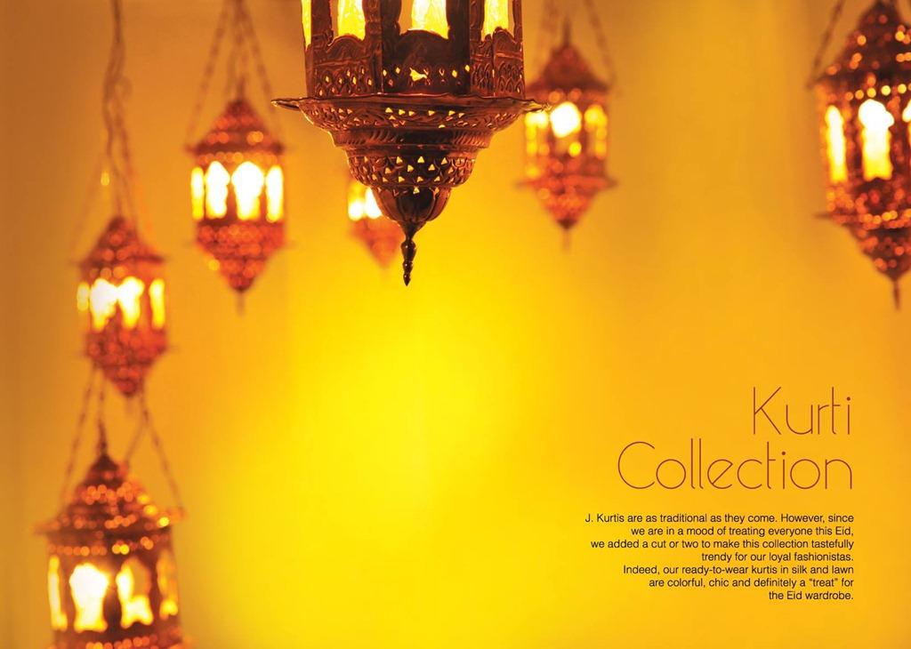 Latest Fasion of Kurtis Design Collection for Girls 2014-2015 –J.J Kurti Collection 2014 (3)