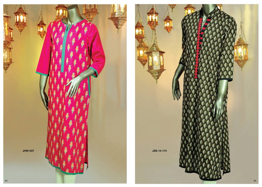 Latest Fasion of Kurtis Design Collection for Girls 2014-2015 --J.J Kurti Collection 2014 (5)