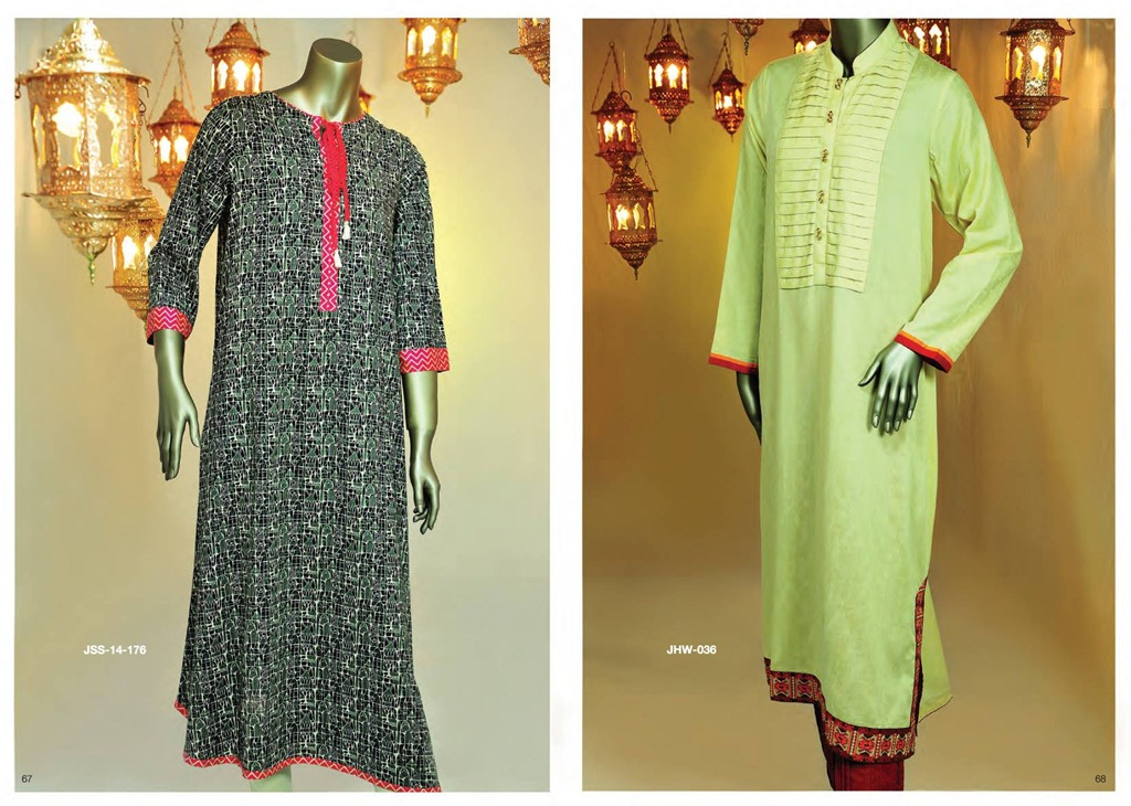 Latest Fasion of Kurtis Design Collection for Girls 2014-2015 --J.J Kurti Collection 2014 (6)