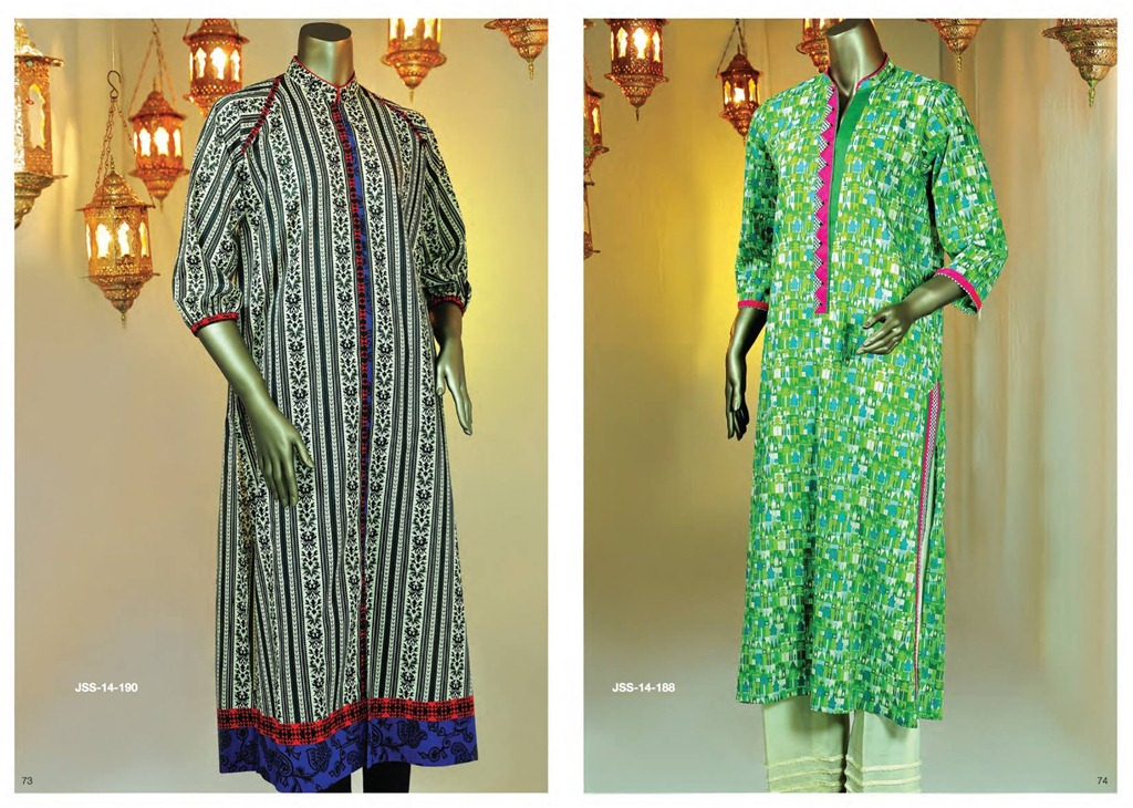 Latest Fasion of Kurtis Design Collection for Girls 2014-2015 --J.J Kurti Collection 2014 (9)