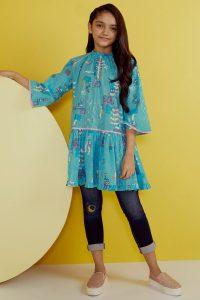 Latest Kids Eid Festival Dresses Alkaram Collection