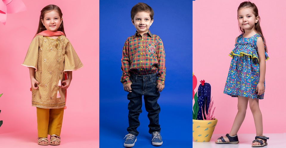 Latest Kids Dresses Alkaram Kids Collection for Little Boys & Girls