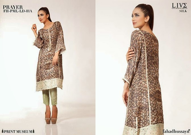 Luxury Pre Fall Winter Pret Formal Dresses Collection for women by Fahad Husayn 2014-2015 (10)