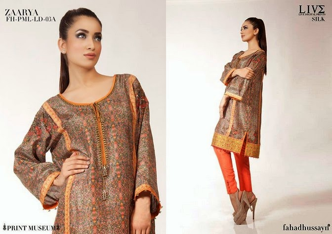 Luxury Pre Fall Winter Pret Formal Dresses Collection for women by Fahad Husayn 2014-2015 (11)